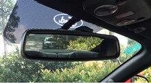 Подходит для Ford Mustang зеркало заднего вида автомобиля из нержавеющей стали декоративные зеркала