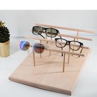 New Fashion Solid Wood Sunglass Display Holder Glass Display Stand