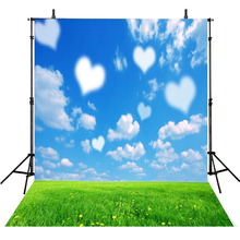 Children Photography Backdrops Sky Backdrop For Photography Clouds Background For Photo Studio Baby Foto Achtergrond цены онлайн