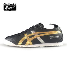 Onitsuka Tiger Men Sport Shoes MEXICO 66 Outdoor Shoes Comfortable Black Women Sneakers