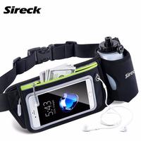 Sireck   Running   Waist Bag Sports   Running   Hydration Belt 6.0'' Touchscreen Waterproof Phone Bag Sport Gym Fitness Trail Run Bag