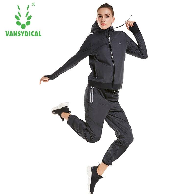 2019 conjuntos de Ruing para mujer Jogging camiseta PantsTraining ejercicio deporte trajes entrenamiento ropa Fitness gimnasio chándal - 5