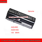 Genuine 15V 88Wh A42N1403 A42LM93 Battery for Asus Rog G751JY G751JM GFX71J Laptop 4ICR19/66-2