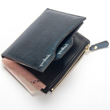 цена на Wallet men brand leather men wallets purse short male clutch leather wallet mens fashion money bag quality guarantee 049