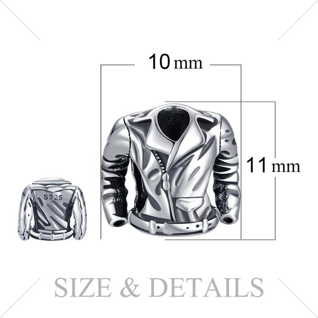 Motor jacket charm piece