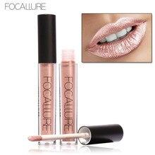 FOCALLURE Soft Matte Lip Cream Lip Gloss Matte Liquified Matte Long Wear Lipstick Lip Gloss 6ML Lipgloss Kit
