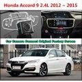 Для Honda Accord 9 2.4L 2012 ~ 2015 Автомобиля Камеры, Подключенной Оригинальный Экран Монитора и Заднего Вида Резервного Копирования Камеры Оригинальный автомобиля экрана