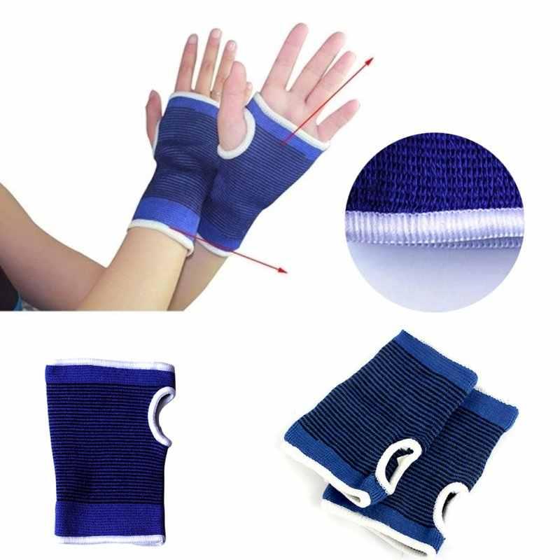 2018 Новый 2 x эластичный неопрен запястье престарелых Поддержка на ладонь Brace перчатки рукав артрит Тяжелая атлетика защиты ZM14
