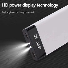 Power Bank 30000mAh Mobile poverbank 2LED digital display portable charger external battery For iPhone6 For xiaomi Hot Sales