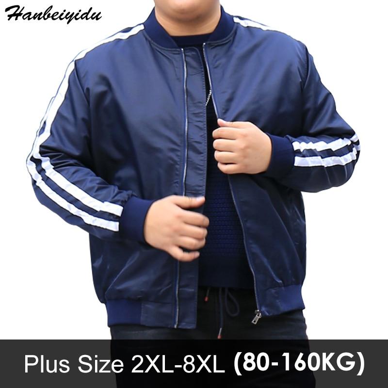 Большие размеры для мужчин бейсбольная куртка водонепроницаемая ветровка теплый пилот полета Куртки большие мужские пальто jaqueta masculina Doudoune...