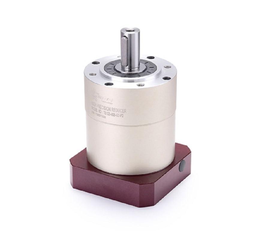 TE080-005-S2-P2 circular standard planetary gear reducer Ratio 5:1 for 750w 80mm 90mm AC servo motor