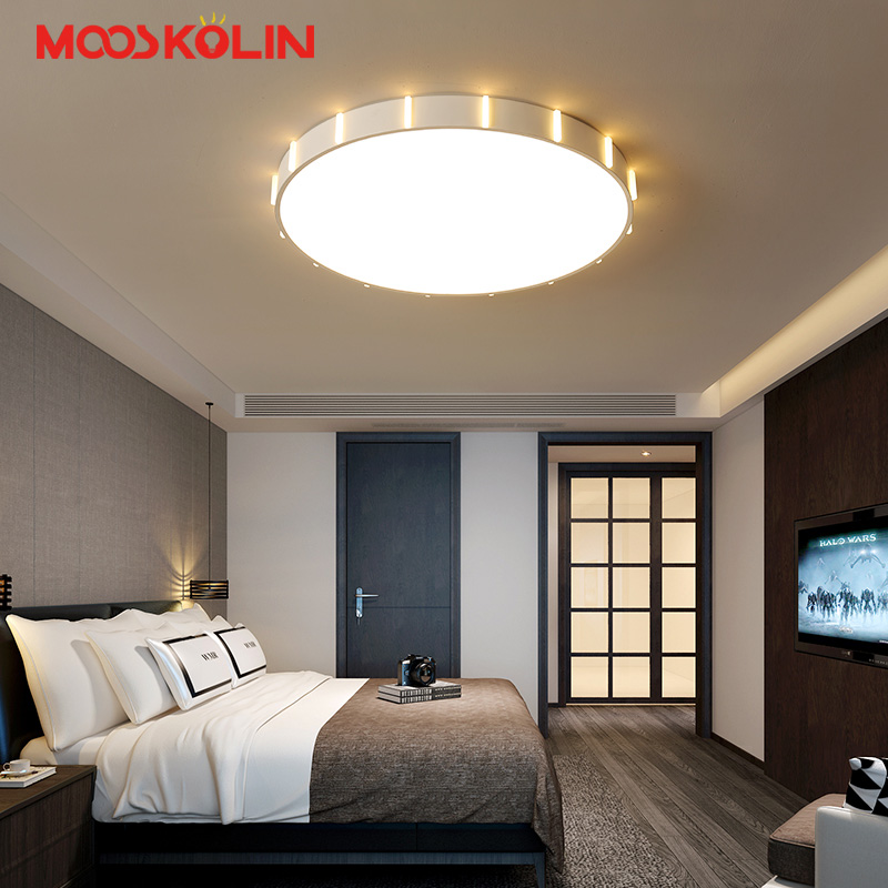 Ultra thin 5CM Surface mounted modern led ceiling chandelier lights for living study room bedroom led chandelier lamp fixtures