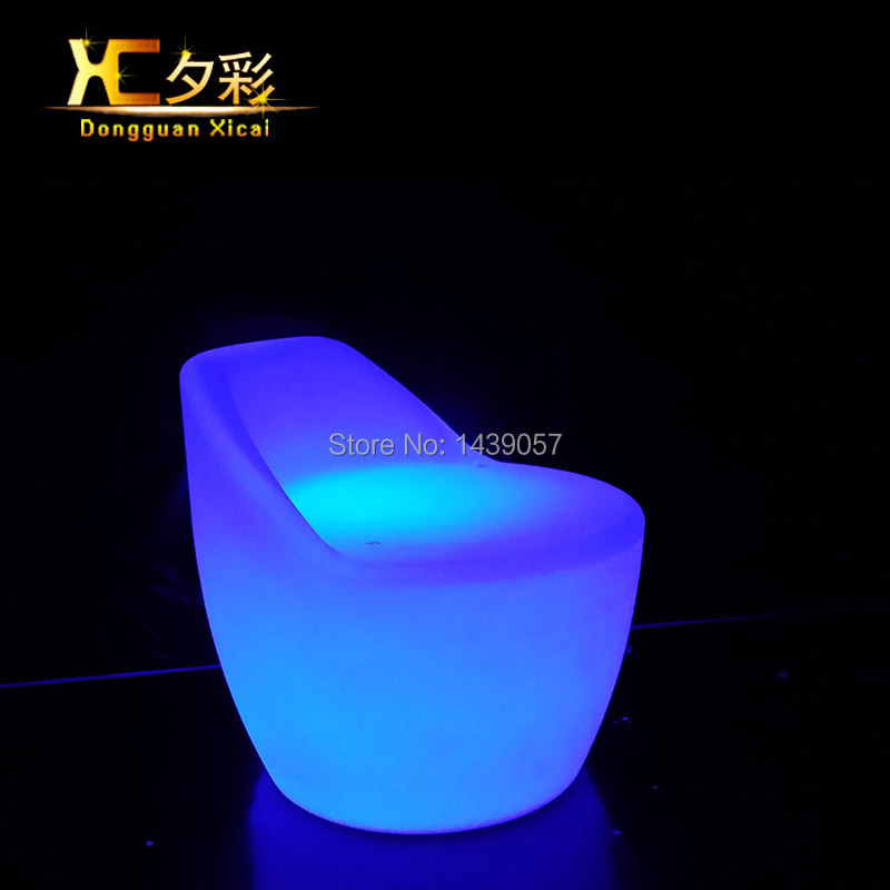 Plastic Led Luminous Bar Stool Color Changing Club Back Rest Wine Coffee Drinking Chair Living Room Party Ceremony Coffee Stools led luminous bar table plastic color changing coffee dining room garden drinking tables