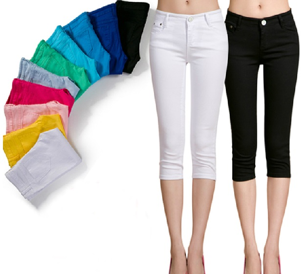Popular Denim Capri Pants-Buy Cheap Denim Capri Pants lots from ...