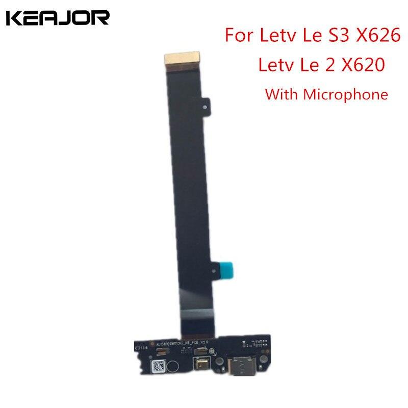 Leeco Letv Le S3 X626 X620 X527 Board USB + Microfone Assembléia Parte Placa USB de Substituição para Letv LeEco Le 2X527X625X20 X25