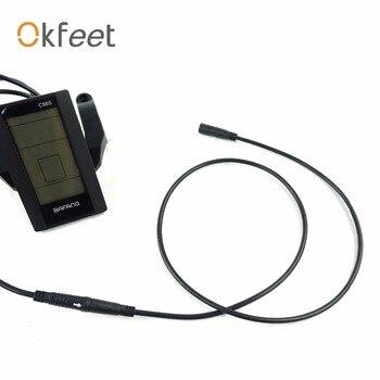 Okfeet Bafang BBS01 BBS02 BBSHD ЖК-дисплей удлинитель 5pin водонепроницаемый