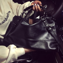 26818e7fcf82 bag winter fashion women bags top-handle simple travel Shoulder crossbody  bags leisure bag PU