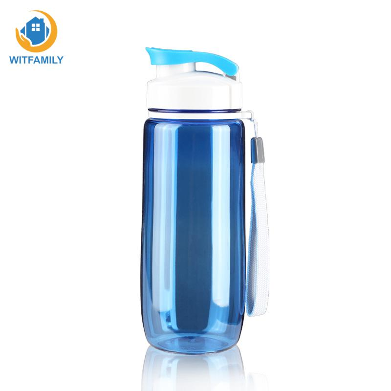 Plastic Sport Water Bottle Leak Proof Seal Drinkware Children Tour Outdoor Bicycle Camping Drinking Bottles For Water 60oml