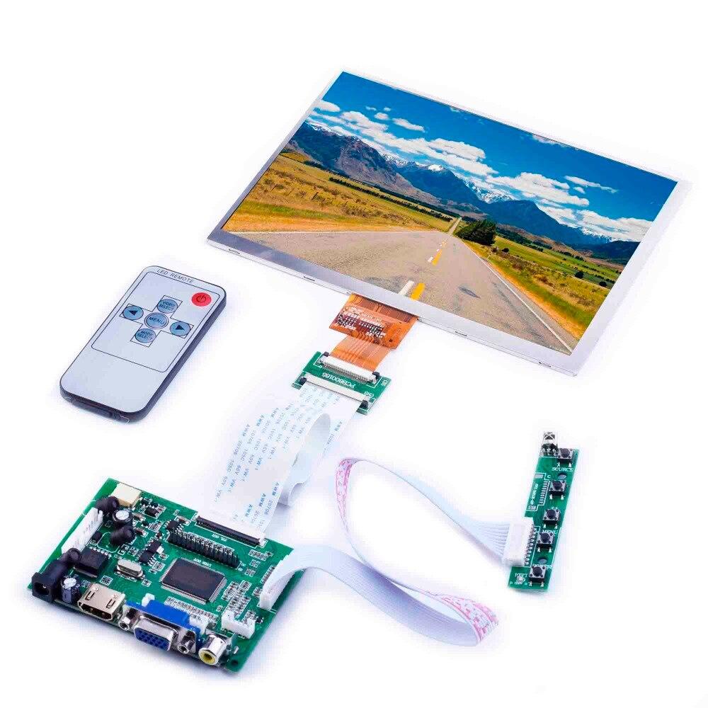 8 pouces voiture écran LCD bord du pilote HD HDMI pour Framboise tarte affichage kit 4:3 1024X768