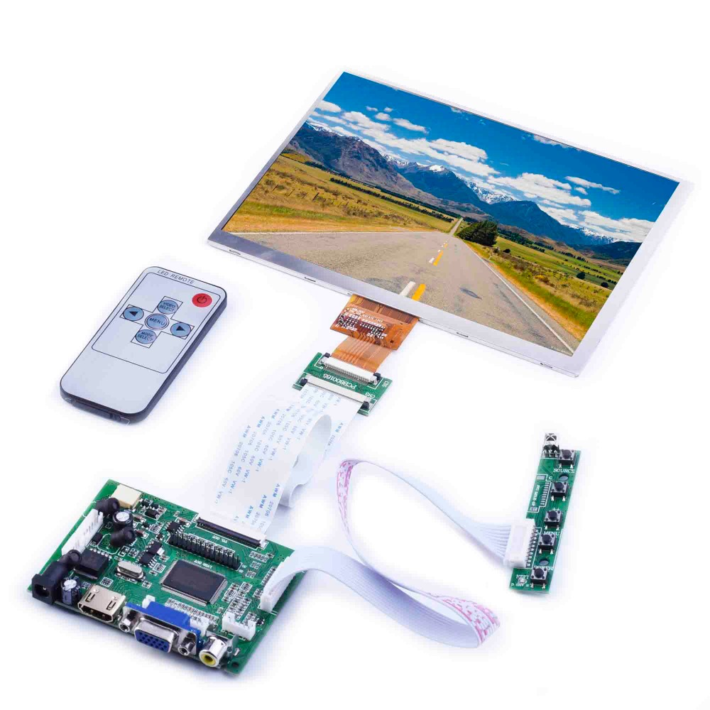 8inch Screen Car LCD Driver Board HD HDMI For Raspberry Pie Display Kit 4:3 1024X768