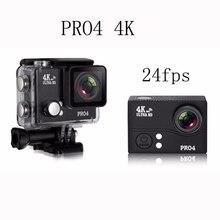 2016 Последним спорт камера 2.0 «экран 4 К 24fps ультра 170 hd спорт dv действий камеры дайвинг 45 м водонепроницаемый