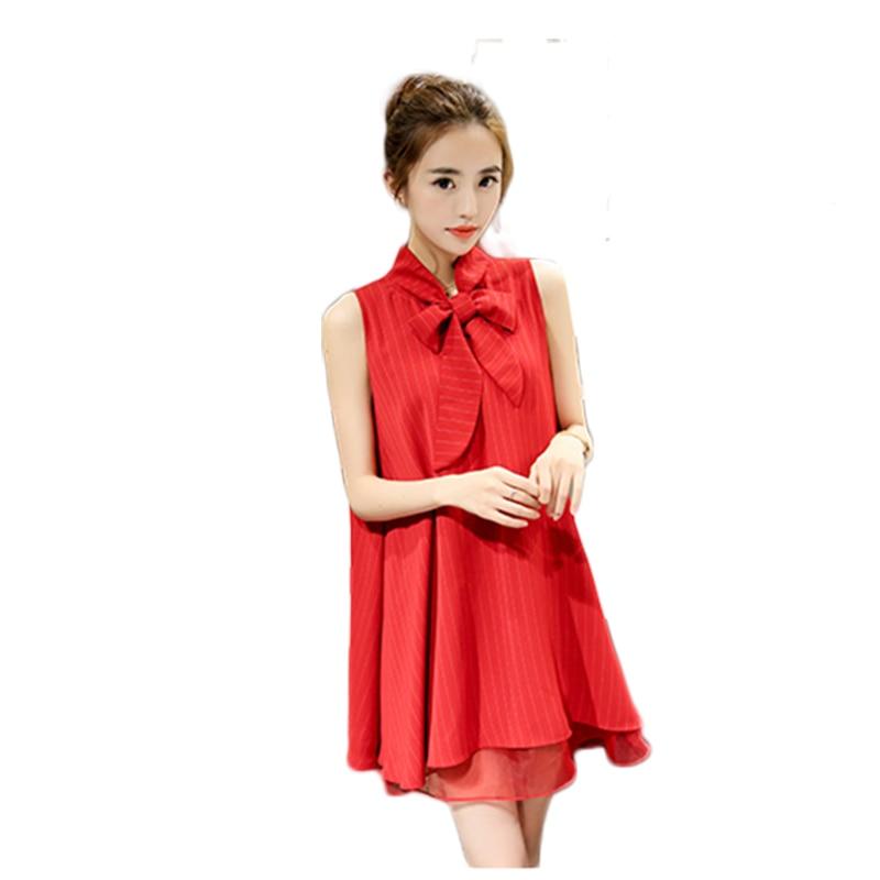 Cute Red Summer Dresses Women