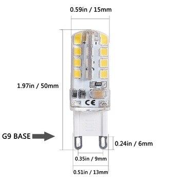 цена на G9 LED Bulb G9 Base 32 LED Light Bulb Lamp 3W 360 Degrees  Halogen Track Bulb Replacement LED Bulbs Silica Lamps For Chandelier