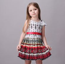 7084 Y summer  Honey Baby clothes ball gown 3 color newborn V-neck bow lace princess infant dress baby girls dress