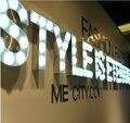 Personalizado 3D Publicidade letreiro de Acrílico letras sinal Lâmpada LEVOU letra luz