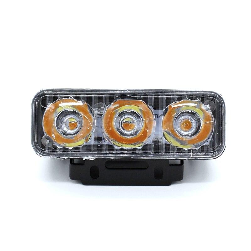 Yituancar 2Pcs / 9W 87MM LED DRL Gündüz işləyən İşıq DC12V - Avtomobil işıqları - Fotoqrafiya 2