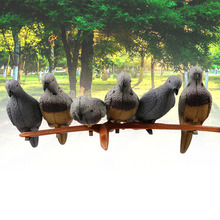 Портативный Декор искусственные голуби птица нетоксичные защитные животные приманки открытый Экономия пространства EVA 3D Охота сад
