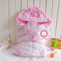 Newborn Baby sleeping bags as envelope for baby cocoon sleepsacks, saco de dormir para bebe used as a blanket & swaddling