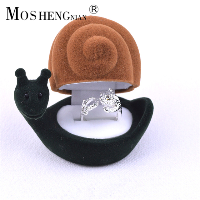 Animal Model Jewelry Packaging Box High Grade Flannelette Creative