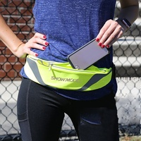 Daily Women Men Waterproof Breathable Adjustable Zipper Waist Bag 2019 New High Quality Outdoor Fitness Pockets Belt Bag Heuptas