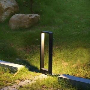 2 sztuk IP68 wodoodporna 15W LED lampa ogrodowa nowoczesna aluminiowa lampa na filarze odkryty dziedziniec willa trawnik krajobrazowy słupki światła