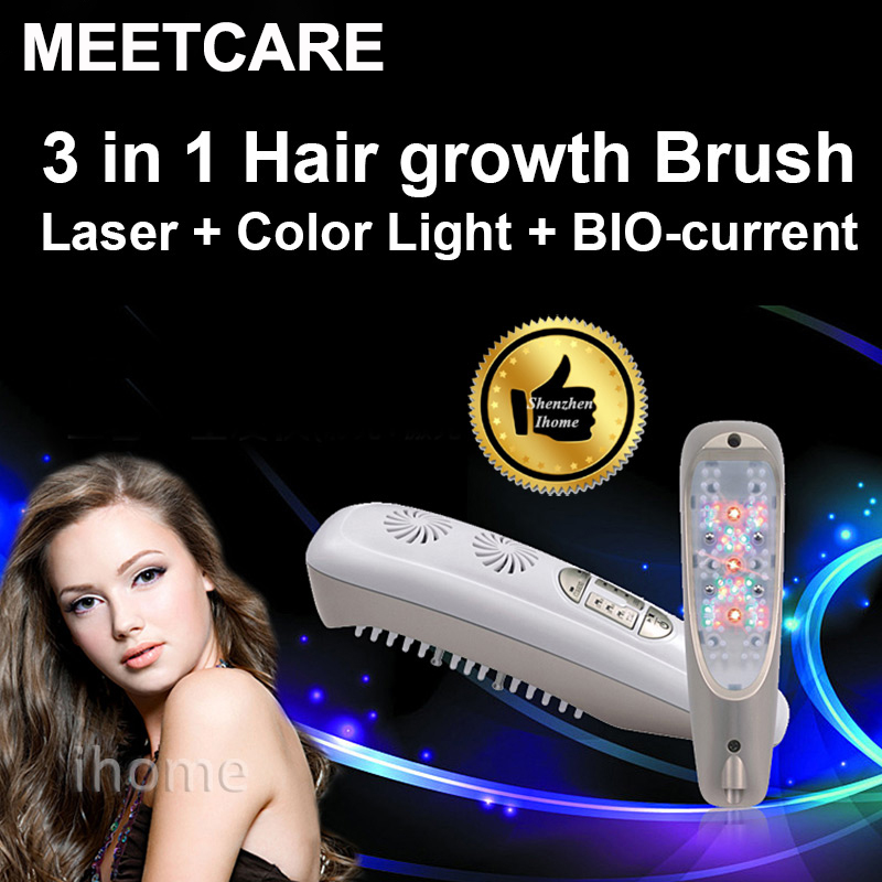 Hair Regrowth Laser Comb Micro Current for Hair Loss Alopecia Scalp Massage Remove Dandruff Thinning Hair Health Repair Growth laser hair growth comb 6 color led light micro current for hair massage remove scurf n repair hair hair loss