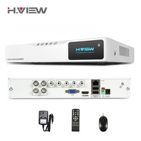 4CH AHD HD NVR Hot DVR 720P CCTV Recorder Camera Network 4CH DVR Surveillance Video Recorder
