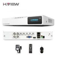 H. view 4ch العهد hd شبكة nvr مسجل كاميرا cctv dvr 720 وعاء الساخنة 4ch dvr مسجل فيديو للمراقبة إدخال الصوت