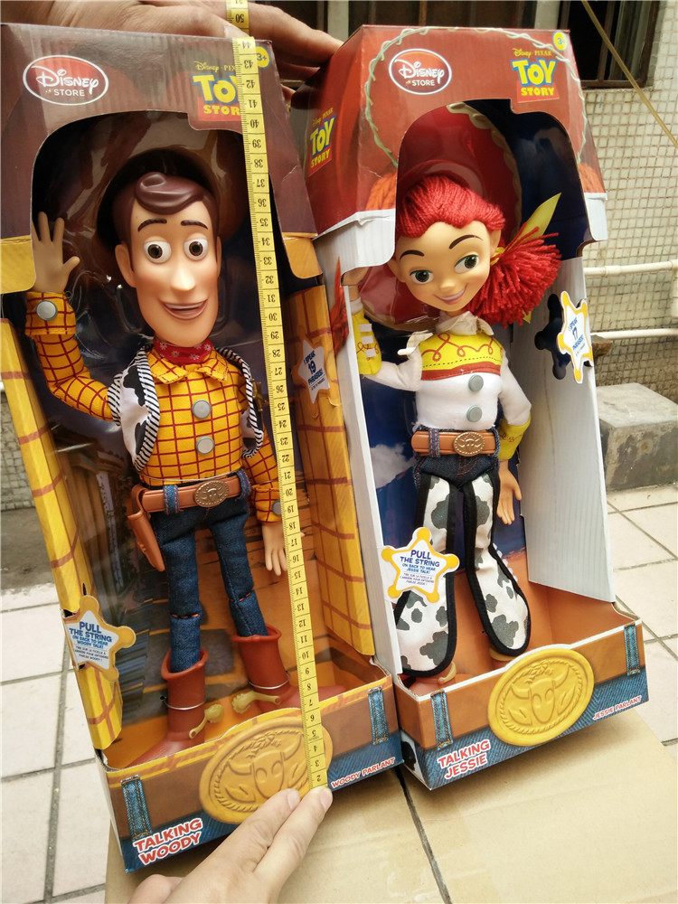 Cartoon Toy Story 3 Talking Jessie Woody PVC Action Toy Figures ...