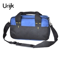 Urijk Oxford Hand Tool Bag Electric Repairing Tools Satchel Multifunction Screwdriver Pliers Scissors Knife Combination Wearable
