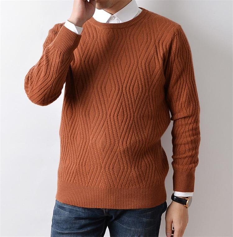 cuello caramel recto Black O Slim 100 Retorcido Suéter Hombres Los 2xl  Fondo Color Cachemir grey ... 4defbdfe038