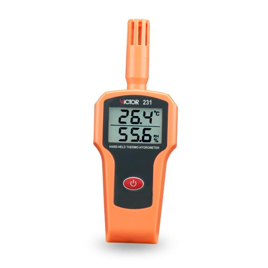 Victor 231 Humidity Instruments Thermometer Hygrometer Tester Handheld Indoor Digital Temperature Humidity Meter mini type humidity temperature meter handheld hygrometer thermometer tester