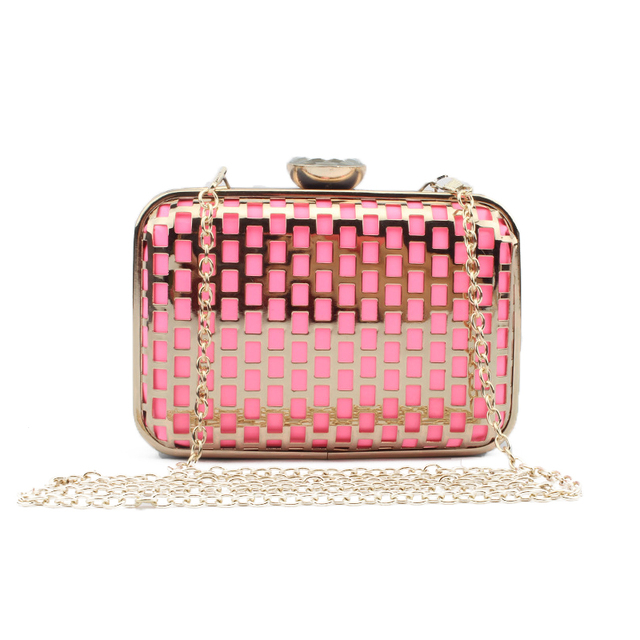 3689afd71ea Luxury Hollow Out Crystal Clutch Evening Bags Handbags Women Famous Brands  Shoulder Bag Wedding Crossbody Bags Pink Lolita Bag