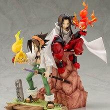 Tronzo Anime Shaman King Action Figure Yoh Asakura AMIDAMARU HAO ASAKURA PVC Figure Model Anime Collection Figurine Doll Toys