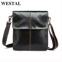 MARRATN Men Bags Genuine Leather Man New Crossbody Shoulder Bag Men Small Business Bags Male Messenger