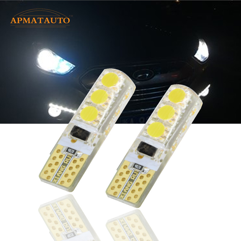 Pair T10  LED Clearance Light Marker Lamp Bulb For Hyundai IX35 I30 VERNA SONATA TERRACAN TUCSON SANTAFE ACCENT ELANTRA SOLARIS