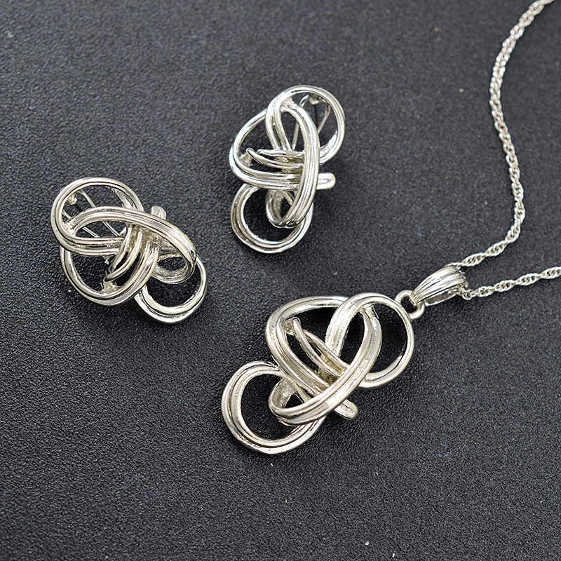 ZEADear Schmuck Böhmen Schmuck-Set Für Frauen Ohrringe Halskette Anhänger Heißer Verkauf Herz Schmuck Erkenntnisse Für Jahrestag Geschenk