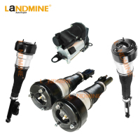 Free Shipping 5pcs Rear Air Shock Front Air Ride Air Compressor Fit Mercedes Benz W221 2213205513(5613) 2213204913 2213201604