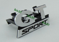 Auto Car Chrome GT SPORT For Golf 5 MK5 Edition Grille Grill Badge Emblem