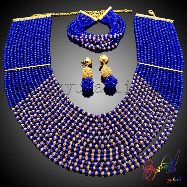 Free Shipping Yulaili Handmade Rhinestone Factory Round Design Girls Costume Anniversary Beaded Two Jewelry Set джемпер mango man mango man he002emafnh6